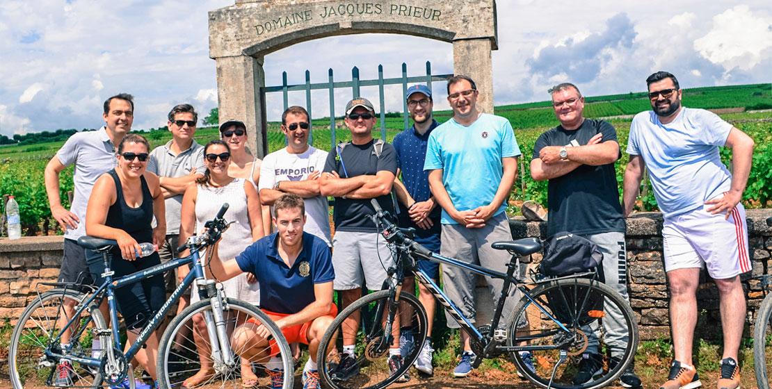 Groupe vélo Beaune
