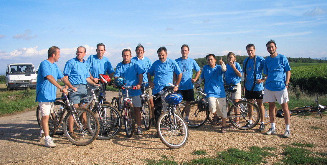Séminaire : rallye vélo à Beaune